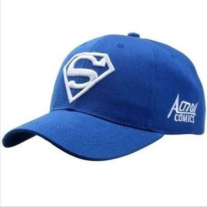 Men Women Superman Baseball Cap Snapback Adjustabl
